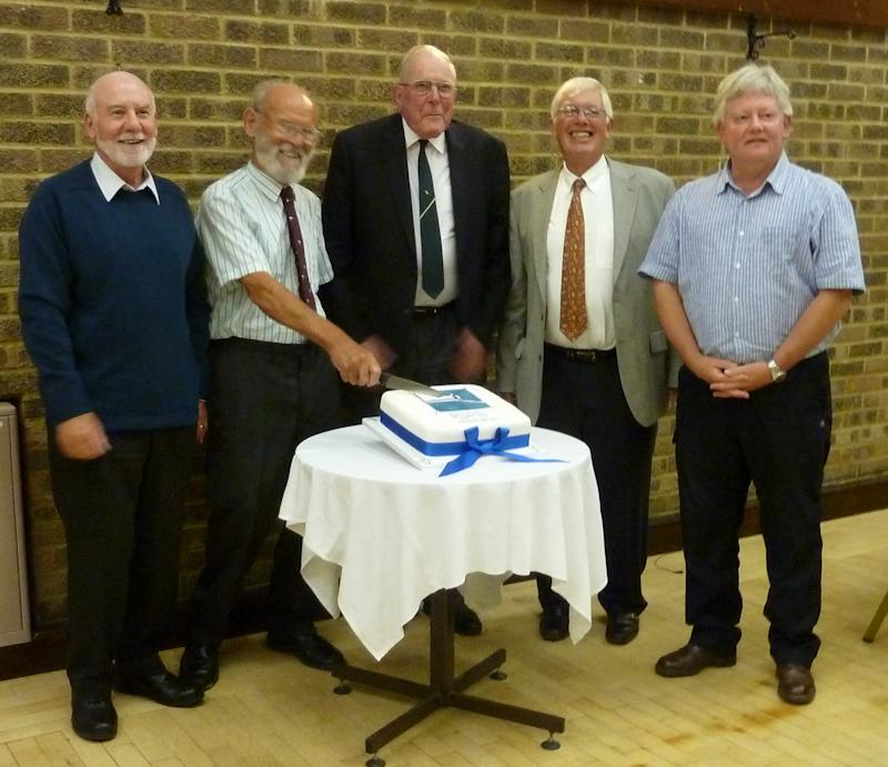 Peter Heathcote, Jim Martin, David Arnold, Jeff Kirk and Malcolm Jennings