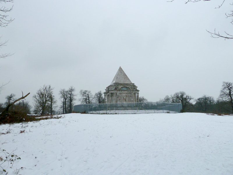 Darnley Mausoleum in the Snow