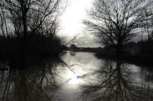 Flooding at Bough Beech