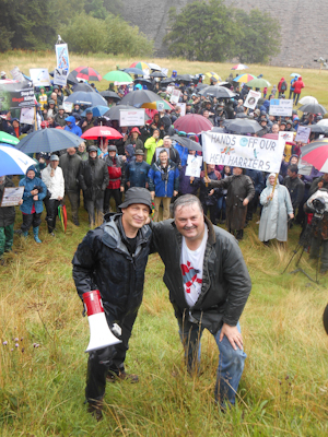 Chris Packham and Mark Avery (photo by P Alfrey)