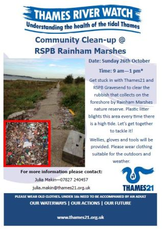 poster -TRW RSPB Rainham Marshes