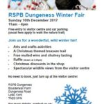 Dungeness Winter Fair and reserve news update