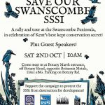 Save Our Swanscombe SSSI - Saturday 2nd October