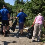 Litter Picking at Cliffe Pools