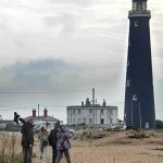 Dungeness Lighthouse and RSPB reserve