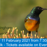 Tickets for February talk available - 'African Adventures' by John Buckingham